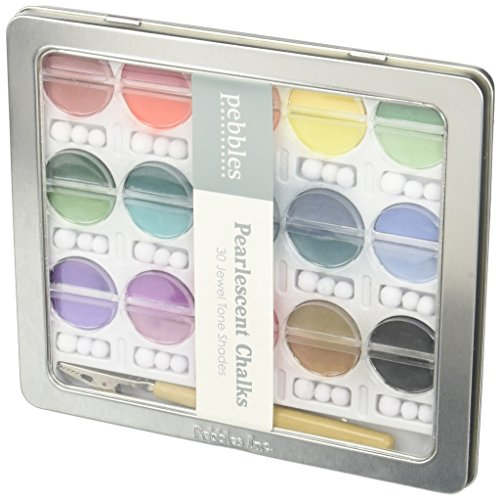 Pebbles Inc. I Kan'dee Chalk Set, Pearlescent Jewel Tones