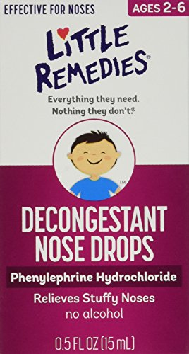 LITTLE NOSES DECONGEST DROPS 1/2 OZ (Kids Nasal Spray compare prices)