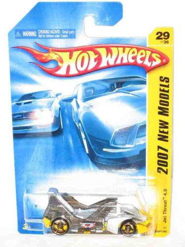 2007 New Models -#29 Jet Threat 4.0 #2007-29 Collectible Collector Car Mattel Hot Wheels
