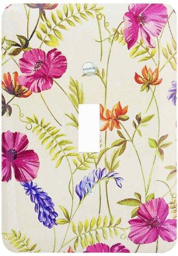 AmerTac 1816T Poppy Single Toggle Wallplate