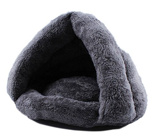 dayan-hot-kitten-chat-chien-puppy-cave-matelas-de-couchage-matelassage-igloo-nest-couleur-gris