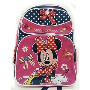 """Disney Minnie School Backpack -16"""""""