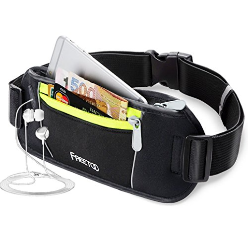 freetoo-bumbag-running-belt-waistpack-fanny-pack-money-belt-runners-bag-black-for-traveling-hiking-f