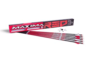 Carbon Express Maxima RED Fletched Carbon Arrow
