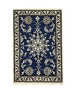 L'EDEN DEL TAPPETO Alfombra Nain K Azul 58 x 88 cm