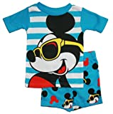 Mickey Mouse Toddler Boys 12M-5T Cotton Pajama Set