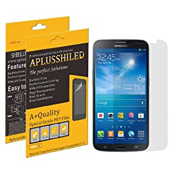 Aplusshield 2014 Premium Ultra Clear Anti Scratch / Bubble Screen Protector Film for Samsung Galaxy Mega 6.3 [6-pack] + (At&t, Verizon, Sprint, T-mobile, All Carriers)- Retail Packaging