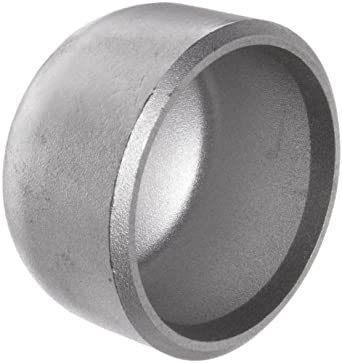 Stainless Steel 316/316L Pipe Fitting, Cap, Butt-Weld, Schedule 40