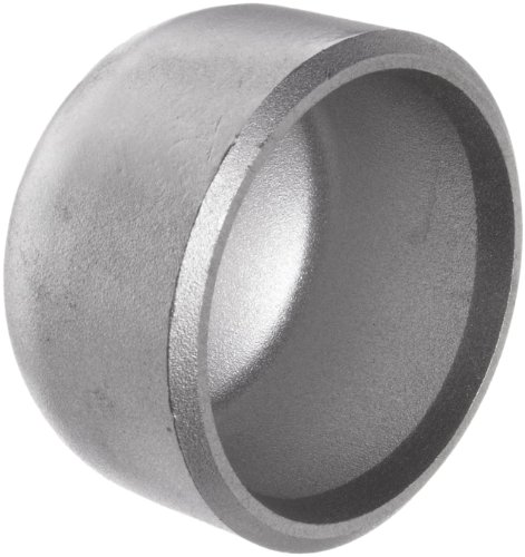 Stainless steel l pipe fitting cap butt weld