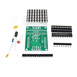 FORWORD MAX7219 Dot matrix module DIY kit MCU control Display module for Arduino