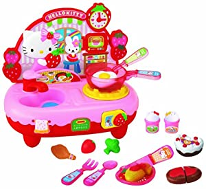 Amazon.com: Hello Kitty Kitchen Set: Toys & Games
