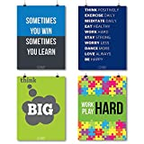 A3 Sized Poster Collection For Startup & Entrepreneurs To Inspire & Motivate Set Of 4 By QuoteSutra