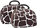 Rockland Luggage Luca Vergani 2 Piece Cosmetic Set