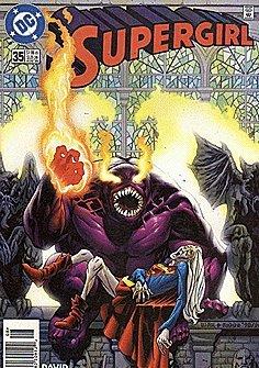 Supergirl (1996 series) #35 NEWSSTAND (Supergirl 35 compare prices)