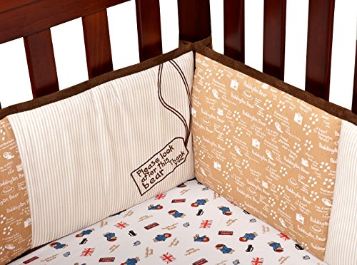 Trend Lab Paddington Bear Crib Bumpers