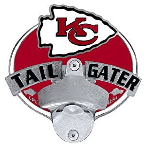 NFL Kansas City Chiefs Tailgater Hitch Cover by Siskiyou