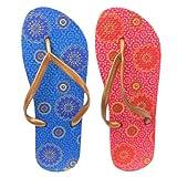 Ladies Gold Strap Designer Floral Retro Flower Design Flip Flop Sandal Womens Beach Holiday Wear Sizes 3-8