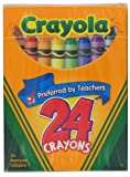 Colored Crayons- Crayons Orig 24Ct From Crayola (Part Number 52-3024)