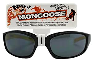 57f8c0a1217 www.lesbauxdeprovence.com Black and Yellow Mongoose Kids Sunglasses  Sports    Outdoors