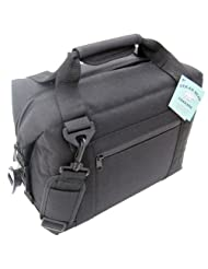 Polar Bear Coolers 12 Pack Soft Cooler, Black by Polar Bear Coolers