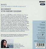 Image de Meine geniale Freundin: Band 1 der Neapolitanischen Saga: Kindheit und frühe Jugend (Die