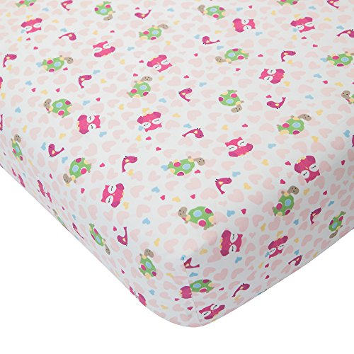 Lambs & Ivy Sprinkles Fitted Crib Sheet - 1