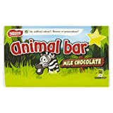 Nestlé Animal Bar Milk Chocolate Bar 19 g (Pack of 44)