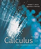 img - for Calculus: Early Transcendental Functions 3rd edition by Smith, Robert T, Minton, Roland B (2006) Hardcover book / textbook / text book