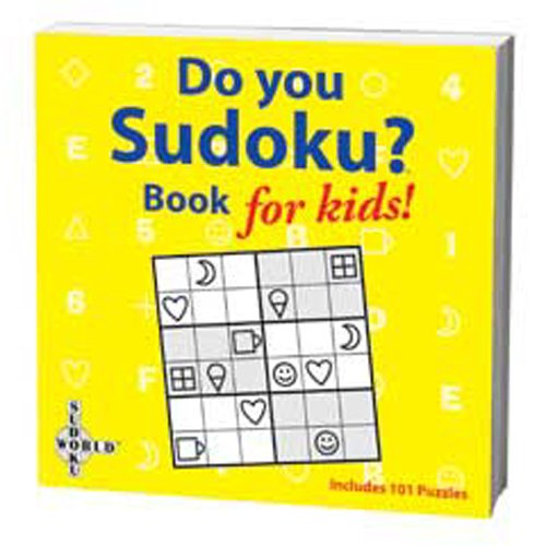 Cheap University Games SUDOKU FOR KIDS PUZZLE BOOK (B000RGM0QO)