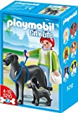Playmobil 5210 Figurines Great Dane with Pup