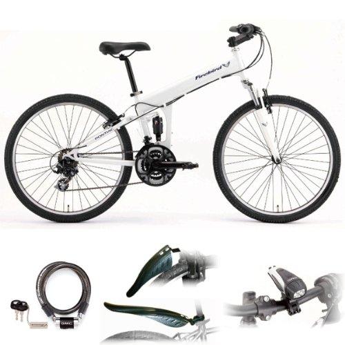 PONTIAC 26インチ マウンテンバイク + ライト + カギ 【セット】 ポンティアック ファイヤーバード ATB268 自転車