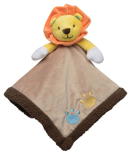 Baby Lion Snuggle Buddy Security Blanket by Baby Starters - Brown - Not Applicable - 1