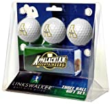 Appalachian State Mountaineers 3 Golf Ball Gift Pack with Hat Clip