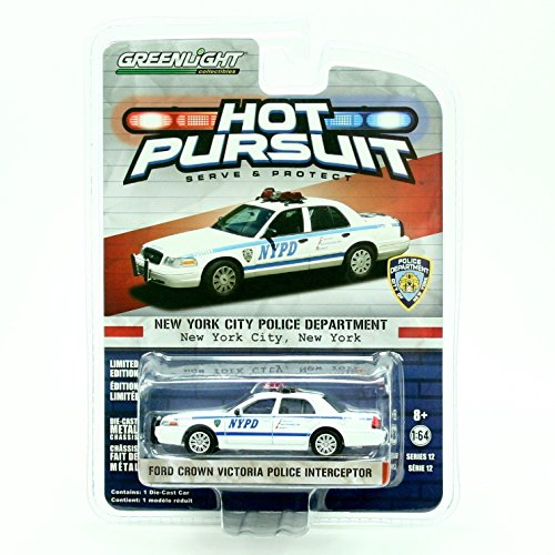 Hot Pursuit 2008 FORD CROWN VICTORIA NYPD POLICE INTERCEPTOR / NEW YORK CITY POLICE DEPARTMENT * HOT PURSUIT SER