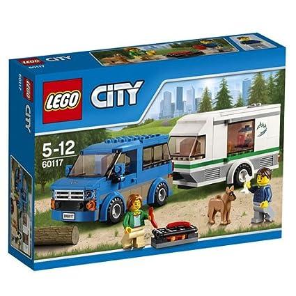 LEGO - 60117 - City - Jeu de construction  - La Camionnette et sa Caravane