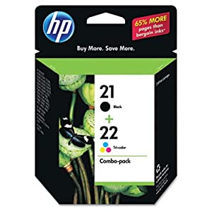 HP 21/22 Ink Cartridge-Combo Pack
