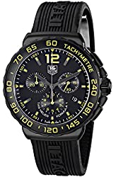 TAG Heuer Men's CAU111E.FT6024 Formula 1 Analog Display Quartz Black Watch
