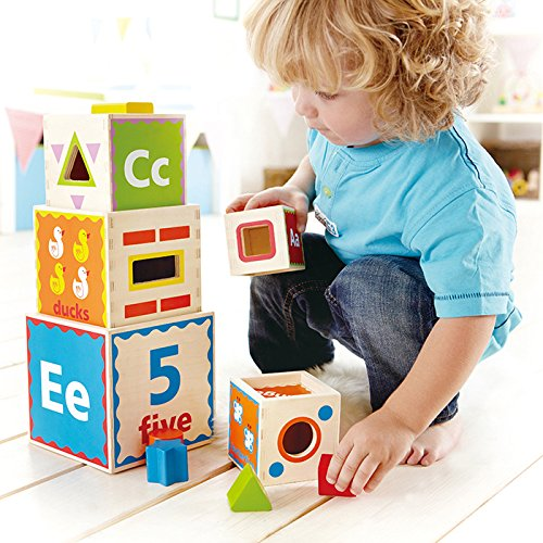 Hape - Pyramid of Play JungleDealsBlog.com