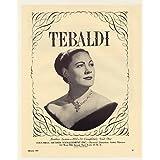 Renata Tebaldi, 1957, Print