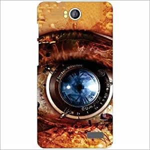 Intex Aqua 4.5E Back Cover - Silicon Eye Desiner Cases