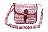Lychee Bags Women Myra Sling Bag (LB19PK, Pink, Canvas)