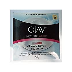 Olay Natural White Healthy Fairness Day Cream Spf24 50g New Amazing of Thailand by molona