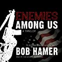 Enemies Among Us: A Thriller (       UNABRIDGED) by Bob Hamer Narrated by Tom Weiner