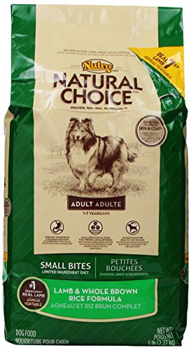 Natural Choice Adult Small Bites Limited Ingredient Diet Lamb & Whole Brown Rice Formula, 5Lbs
