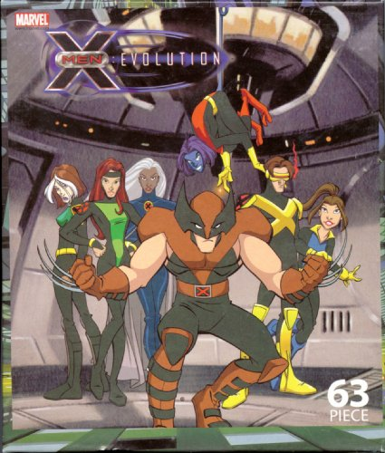 X-Men: Evolution 63 Piece Jigsaw Puzzle X-Men Team