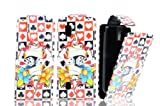 FOR NOKIA ASHA 300 MAGNETIC TOP FLIP LEATHER COVER CASE POUCH - PERFECT FIT (CASINO CARDS)