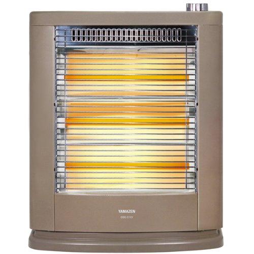 山善(YAMAZEN) 遠赤外線電気ストーブ(990W/660W/330W 3段階切替) ブラウンメタリック DSE-C101(N)