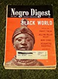 Negro Digest Magazine May 1968, Frantz Fanon, Articles on the Black World