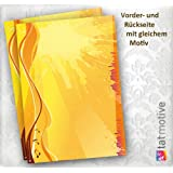 "Flyer Party Einladung (50 St�ck) bunte Vordrucke f�r Flyer DIN A5 Sommer, Grillparty, Disco uvm., mit Word selbst gestalten und bedrucken, Flyer Papier flexibel quer oder hoch verwendbarvon ""TATMOTIVE - hier alle..."""