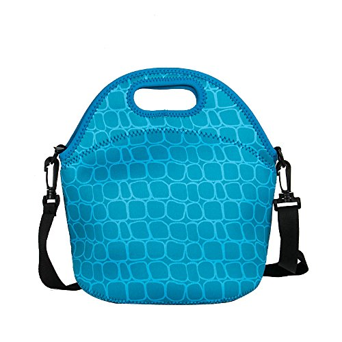 Yipinu Neoprene Lunch Box Handbag Tote Lunch Bag Cool Bag Cooler - 1